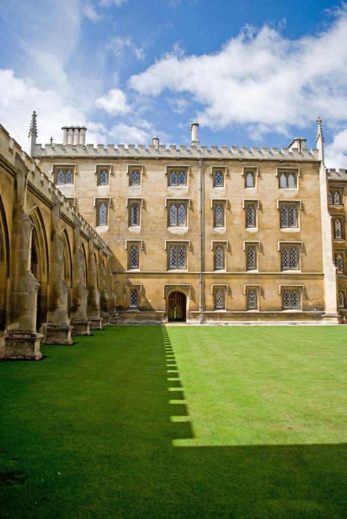 St Johns College courtyard