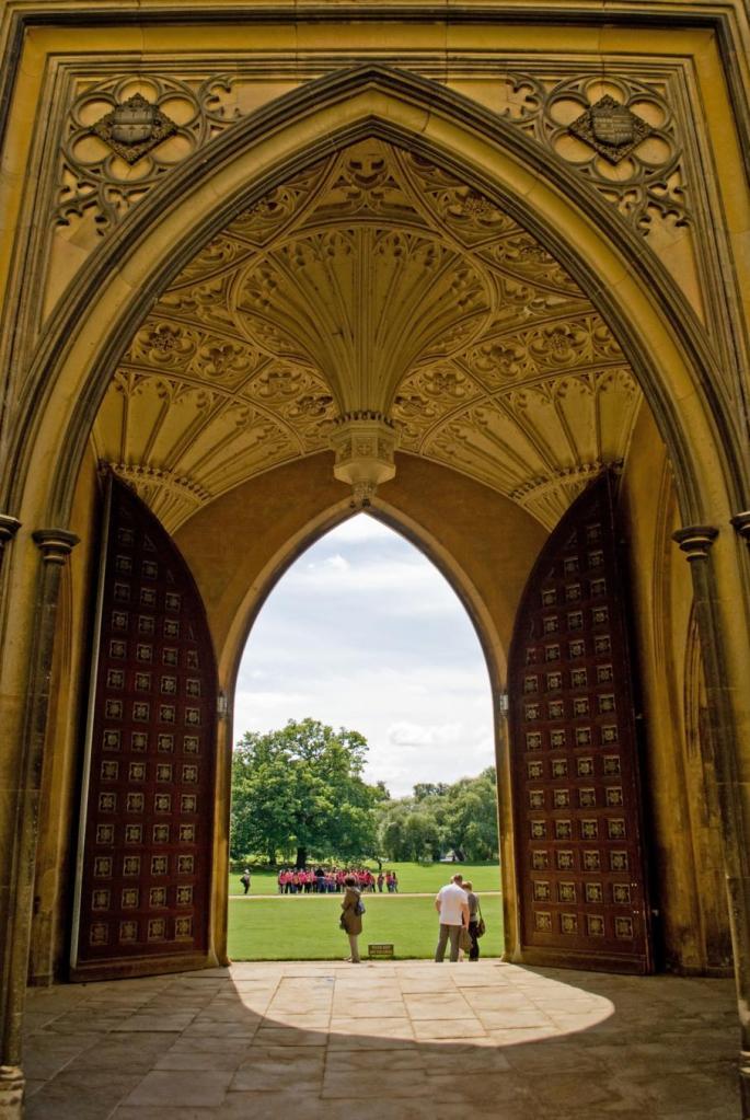 St Johns College entrance
