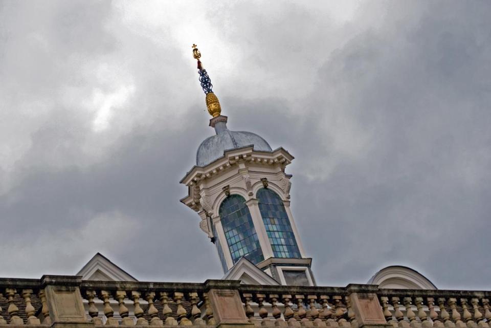 Cambridge University tower