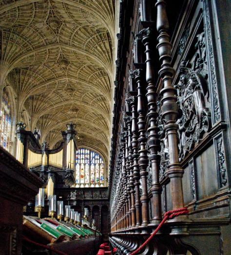 Kings College Chapel Choir stalls