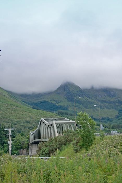 The road to Glencoe