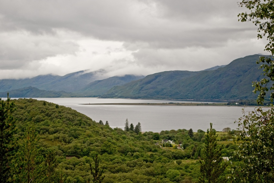 View of Loch Linnhe from Inchree
