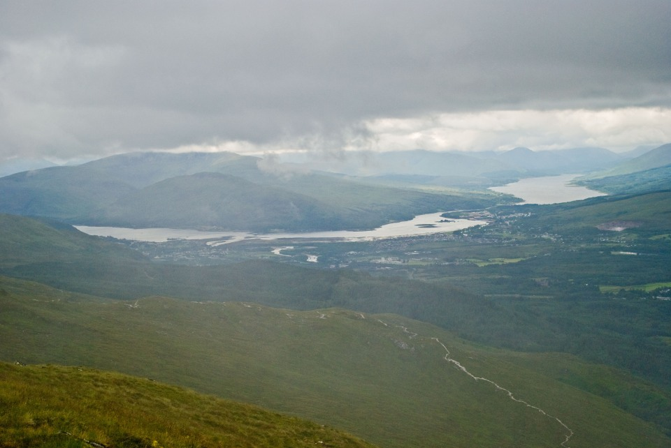 View towards Fort William