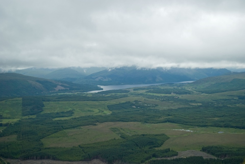 View towards Loch Lochy