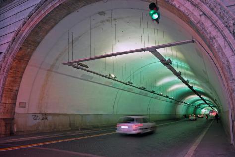 Rome, Tunnel of Colour!