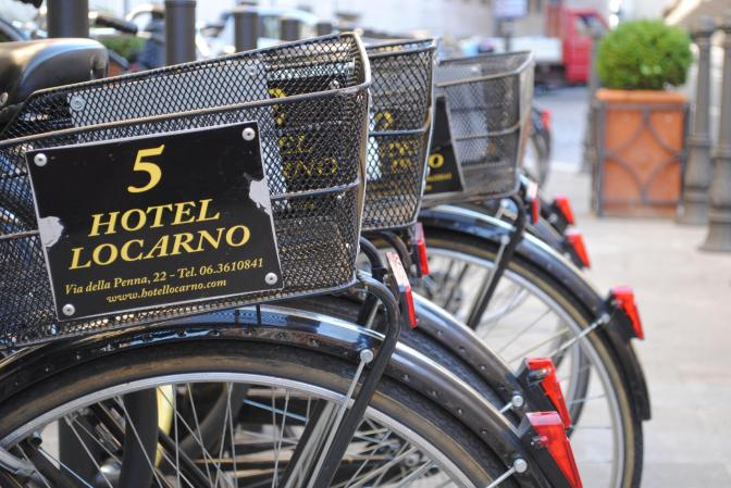 Rome, Lots of Bicycles!