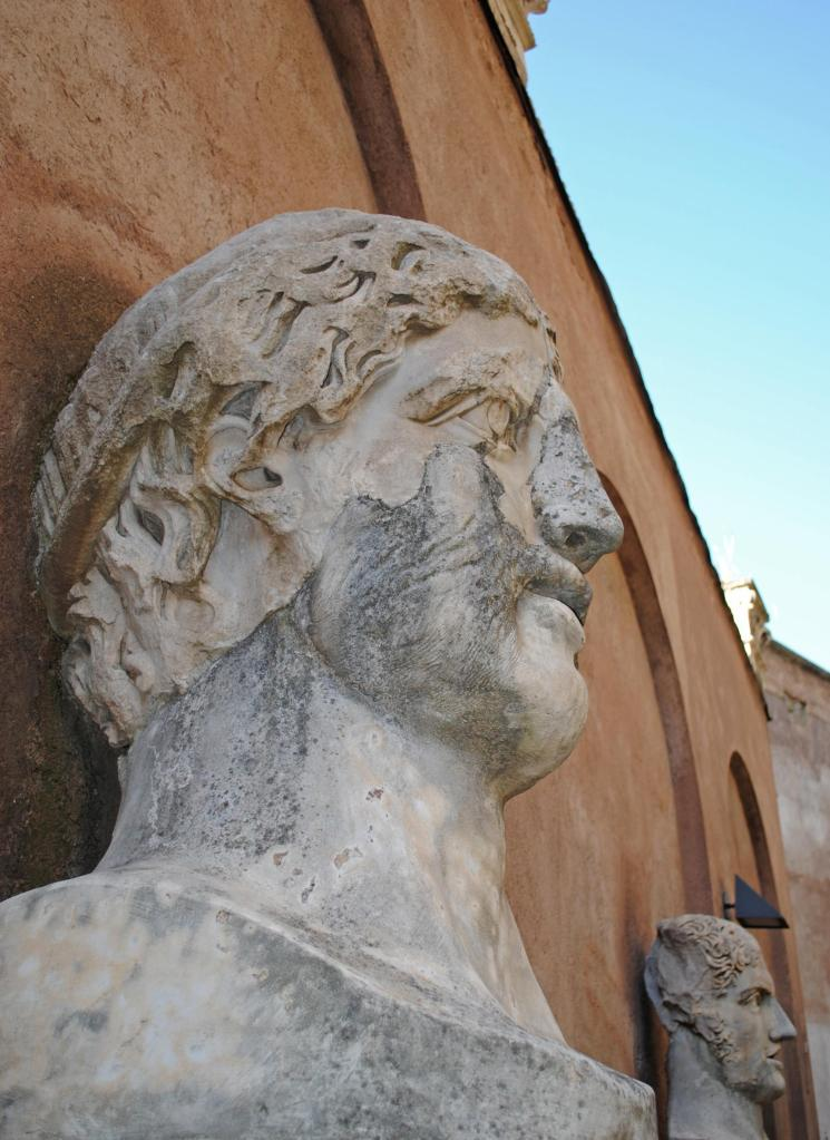 Rome,  Stone Faced!!