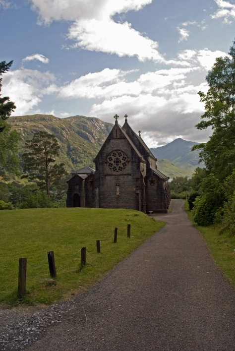 St Marys & St Finnans Catholic church, Loch Shiel