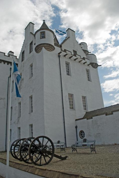 Blair Castle, the ancient seat of the Dukes and Earls of Atholl