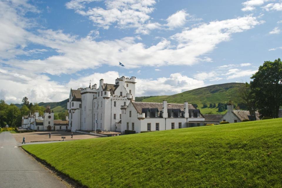 Blair Castle in all it's glory