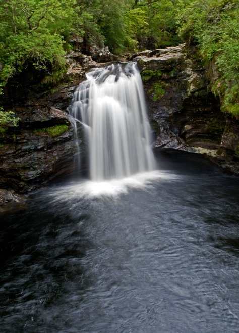 The Falls of Falloch near Loch Lomond