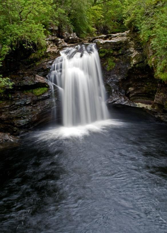 The Falls of Falloch near Loch Lomond