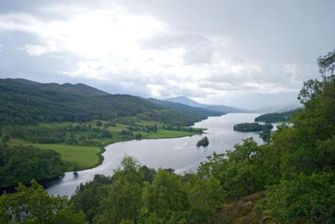 The Queens View near Pitlochry