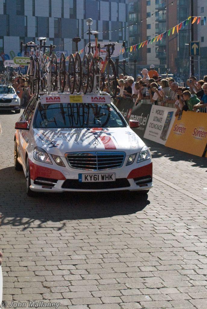 UK Youth team vehicle