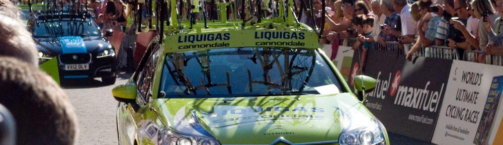 Team Liquigas – Cannondale vehicle