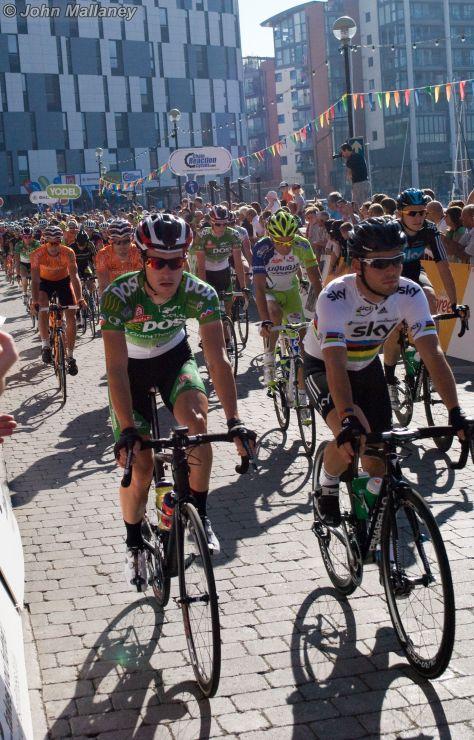 The Start - Mark Cavendish