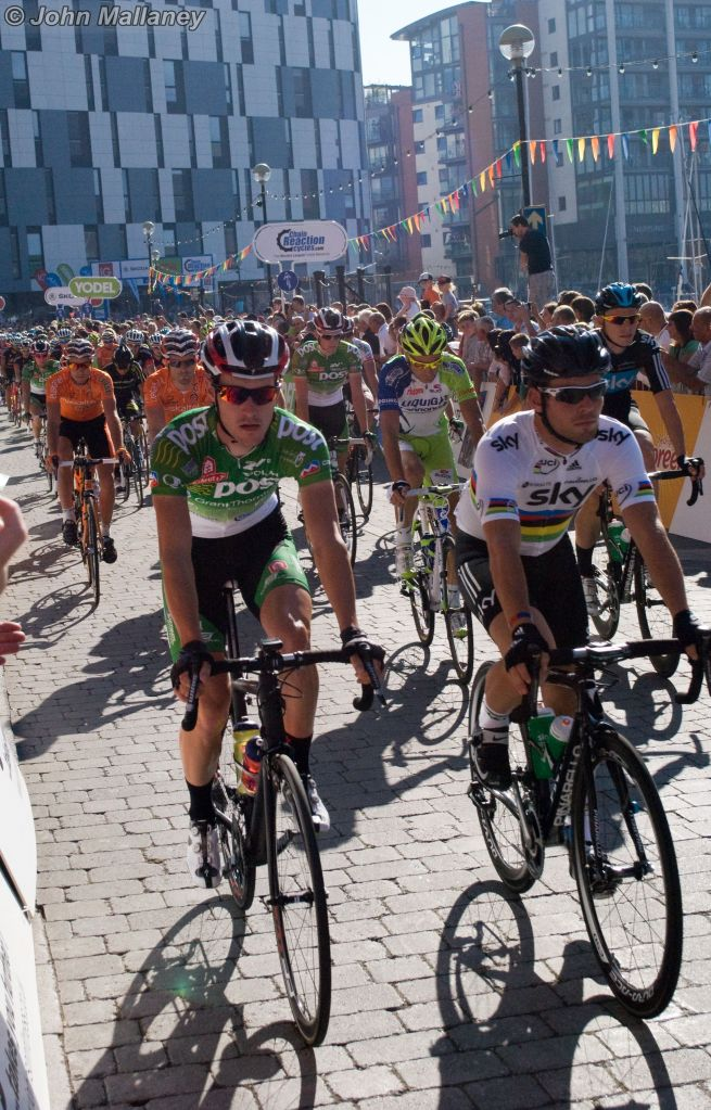 The Start - Mark Cavendish