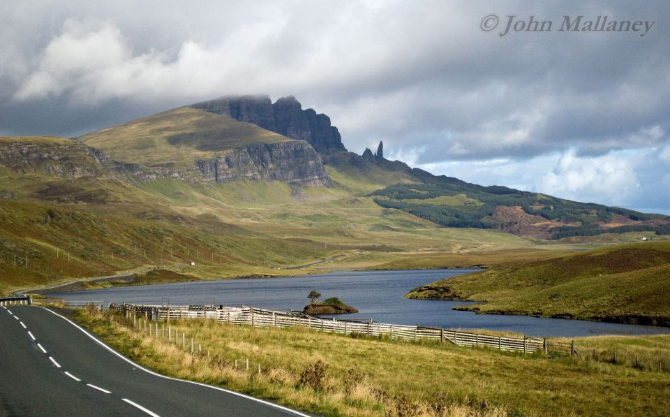 The road to Storr