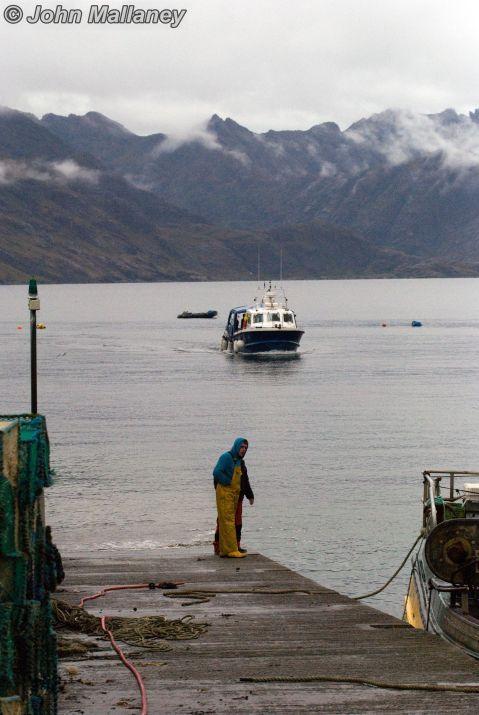 Elgol harbour