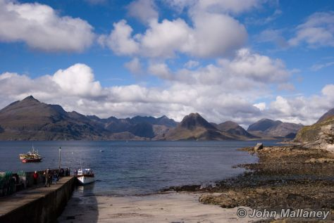 View of the Cullin hills from Elgol