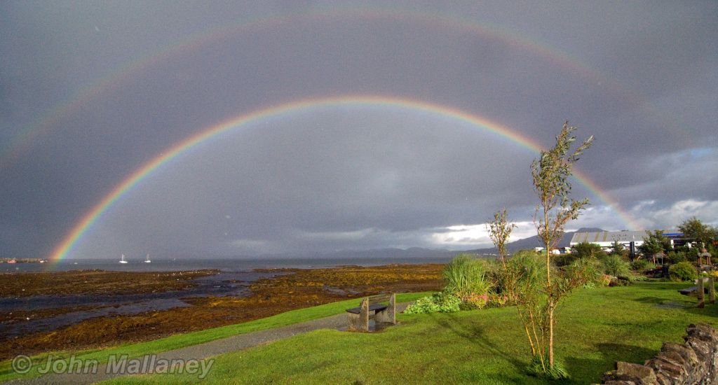 A Rainbow over Broadford