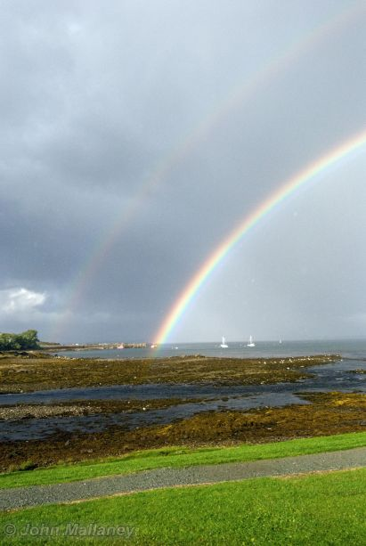 Rainbow over Broadford