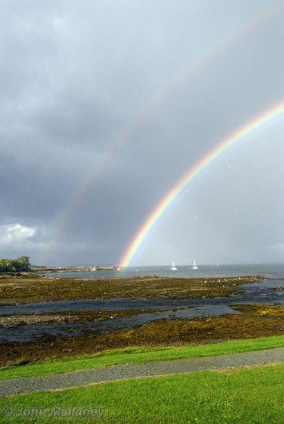 Rainbow over Broadford