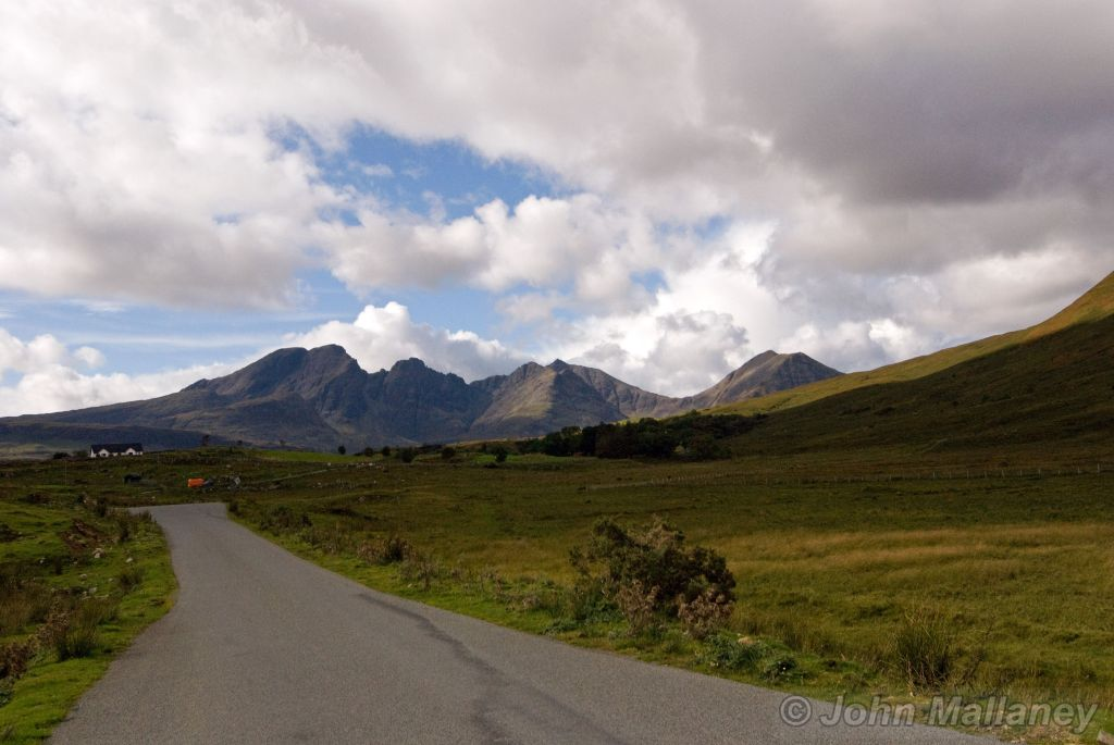 The road from Broadford to Elgol