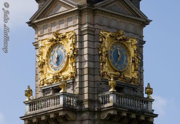 Cliveden Chapel clock