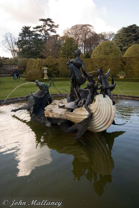 Ascott House Venus fountainn
