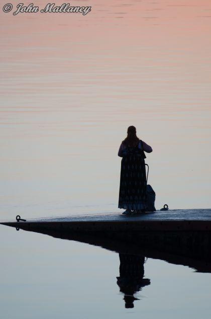 Sunset in Oban
