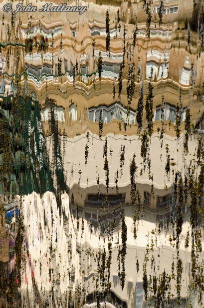 Oban harbour - a reflection