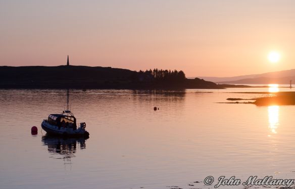 Sunset in Oban