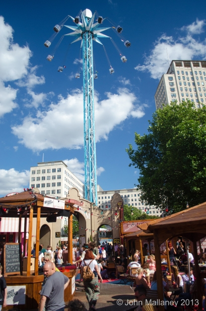 Wonder Ground at the Southbank centre