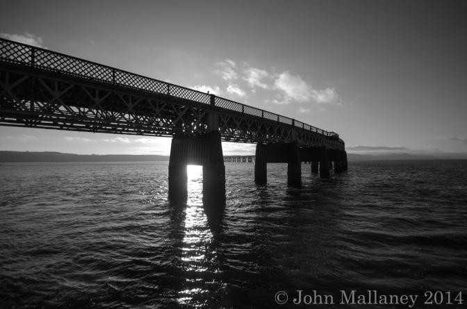 The Tay Rail Bridge, Dundee