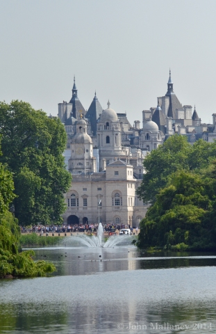 View from St James Park