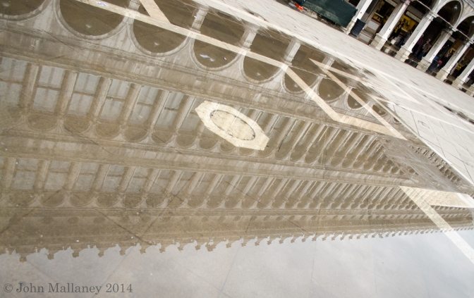 San Marco square reflection