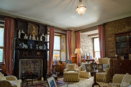 Queen Mothers sitting room, Glamis Castle