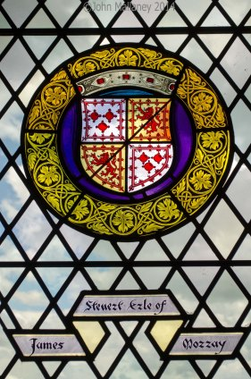 Stirling Castle stained glass