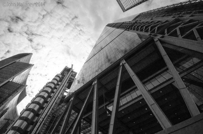 The Willis, Lloyds and Leadenhall buildings