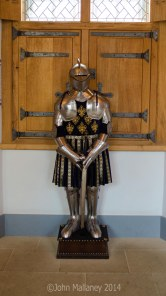 A suit of armour