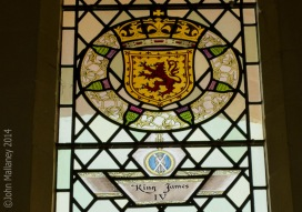 King James IV Stained Glass