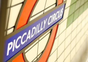 London Underground - A Wall
