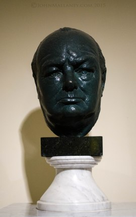 Bust of Sir Winston Churchill