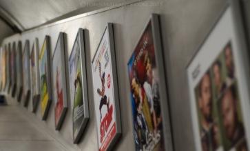 London Underground - Escalator Ads