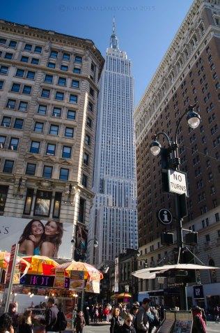 Empire State building sandwich