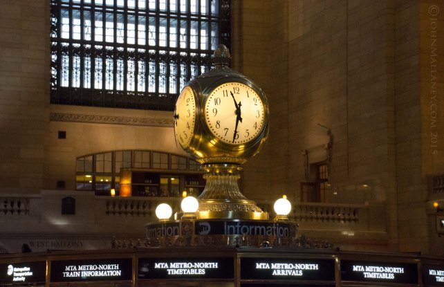Grand Central concourse clock
