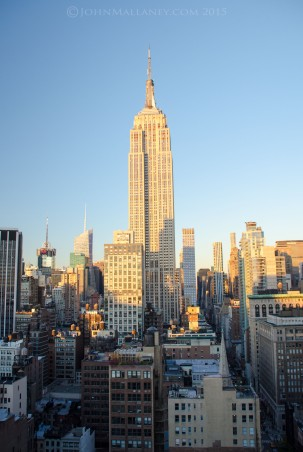 The Empire State building from 230 fifth