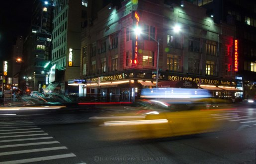 Nightime New York - Slow shutter speed