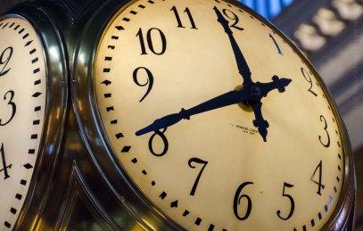 Grand Central concourse clock
